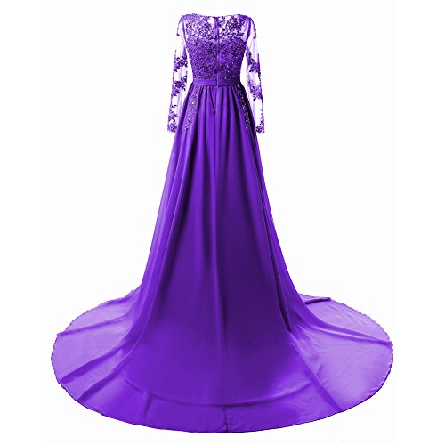 Kleid Kleid Drasawee Violett Empire Damen Empire Drasawee Damen Drasawee Violett Damen Empire Kleid Eqx7PAwn