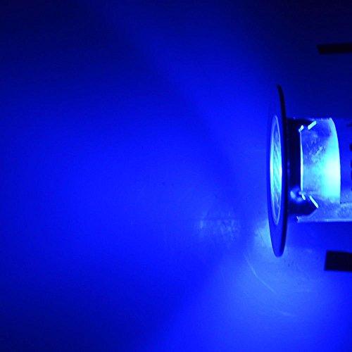 Jennyshop 10pcs Diam.18mm Stainless Steel LED Deck Light Kit Landscape Recessed Lighting Blue Light Patio Home Garden Floor Steps Stair Yard Lights,Waterproof IP67 by Jennyshop (Image #8)