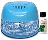 Fresh Aire New Machine. Includes a Bottle of Rainbow Rainmate Eucalyptus Fragrance. Blue Color with 6 LED Color Changing Lights