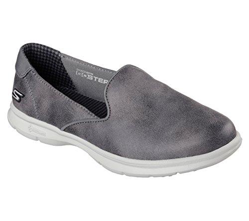 Skechers Performance Women's Go Step Untouched Walking Shoe Charcoal