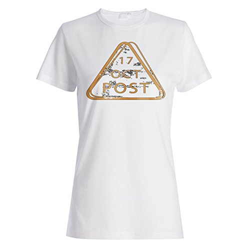 Neue 17 Oktober Post Damen T-shirt m258f