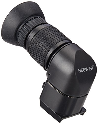 Neewer® Perfect 1x-2.5x Right Angle Viewfinder for Canon, Nikon, Sony, Pentax, Panasonic and Other Digital SLR Cameras