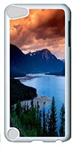 Apple iPod 5 Case and Cover -British Columbia Polycarbonate Hard Case Back Cover for Apple iPod 5/iPod Touch 5 White