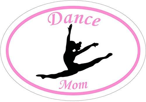 Conga Dance Costumes (DANCE Decal - Dance Mom Vinyl Sticker - Dance Bumper Sticker - Dance Mom Decal - Perfect Dancer Dance Mother Instructor Gift - Made in the USA)