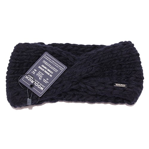 Wool Donna Blue Blu Woolrich Cappello Headband Woman 7859w Fascia xRw44qXf
