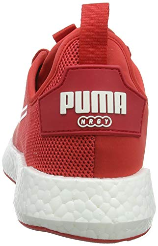 Wn's Neko Nrgy Sport Donna Scarpe Puma hibiscus Running White puma Rosso qpxAwt5