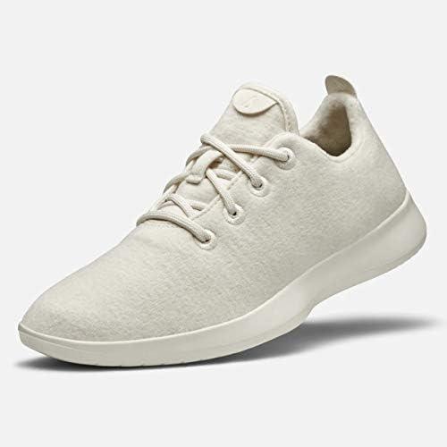 メンズ スニーカー ウール ランナーズ Men`s Wool Runners Sneakers Natural White (Cream Sole) [並行輸入品]