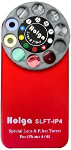 Holga 400140 Lens Case for iPhone 4/4s - Red
