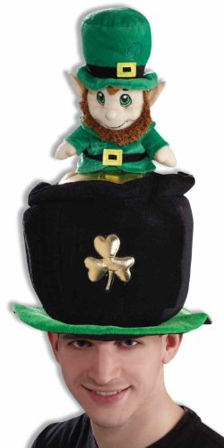 Forum St. Patrick's Day Costume Party Leprechaun Pot Of Gold Hat, Multi-Colored, One Size