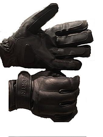 fingerlos Handschuhe Bekleidung Bleistaubhandschuhe aus Rindsleder Security Handschuhe