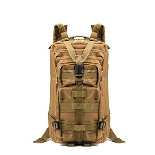 Fulltime (TM)–�?5.7l Militar bolsa de deportes senderismo Camping mochila ejército Militar Táctico senderismo mochila, hombre mujer Infantil, H, 43 x 23x 26cm A