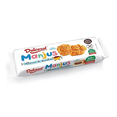 DULCESOL 🍪🦁 Manjus sin gluten - 6 unidades 🍪🐵: Amazon.es ...