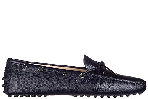 tods-womens-leather-loafers-moccasins-heaven-laccetto-occhielli-blu-us-size-85-xxw0fw05030sfpu824