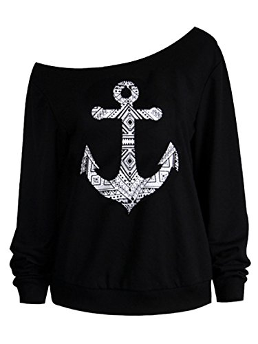 choies-womens-black-off-shoulder-anchor-print-long-sleeve-sweatshirt-blouse-xl