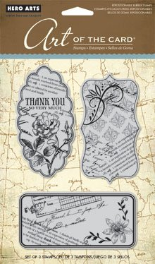 Hero Arts Art of the Card Le Journal Cling Stamp Set