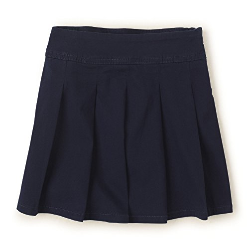 The Children's Place Girls' Little Uniform Skort, Tidal 3300, 6