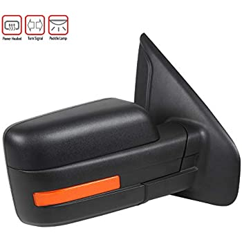 Carpartsinnovate For Ford 07-14 F150 Pickup Power Heat Passenger Side Mirror Right+LED Signal+Puddle