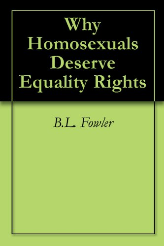 Inequality of homosexuals