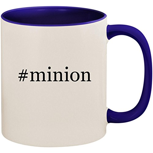 #minion - 11oz Ceramic Colored Inside and Handle Coffee Mug Cup, Deep Purple for $<!--$22.95-->