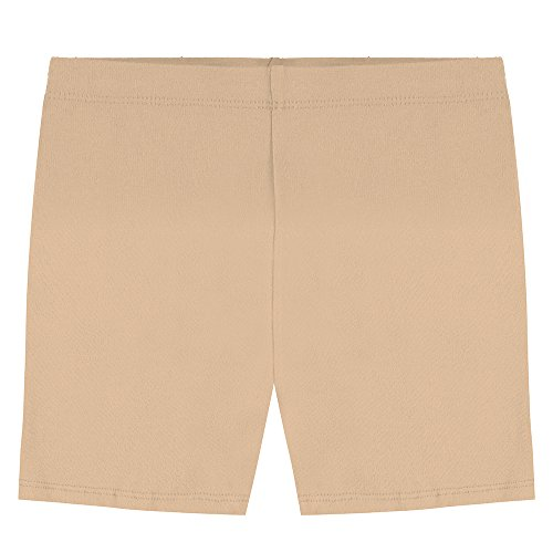 Popular Big Girl's Cotton Bike Shorts - Khaki - 14 - Big Bike