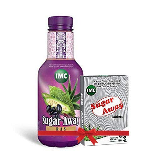 Imc Sugar Away Rus And Sugar Away Tablet - Combo, Pack Of 2