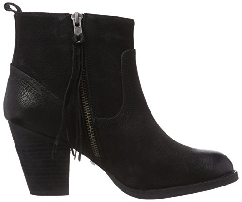 Buffalo London 412 0964 ARNO LEATHER Damen Chelsea Boots Schwarz (Black 01)