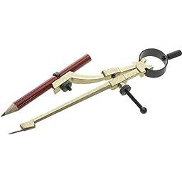 General Tools 842 Precision Pencil Compass, includes pencil