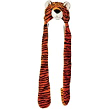Plush Tiger Hat With Long Paws