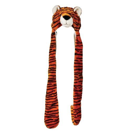 Plush Tiger Hat Long Paws