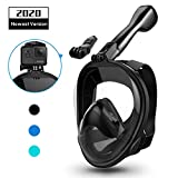 aegend Full Face Snorkel Mask with Upgraded