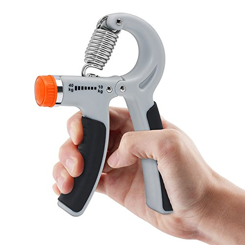 Hippih 2 Pack Hand Grip Strengthener Adjustable Resistance 22 88 Lbs (10 40kg) Hand Grip Exerciser, Strengthen Grip, Hand Squeezer, Forearm Grip, Hand Exercise, Gripper, Finger Strengthener