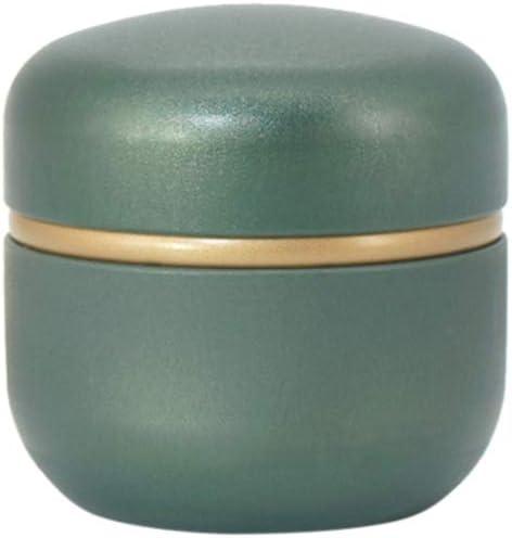 Dabixx - Caja de Almacenamiento para Guardar Monedas y té, café y Caramelos (tamaño pequeño), Color Verde: Amazon.es: Hogar