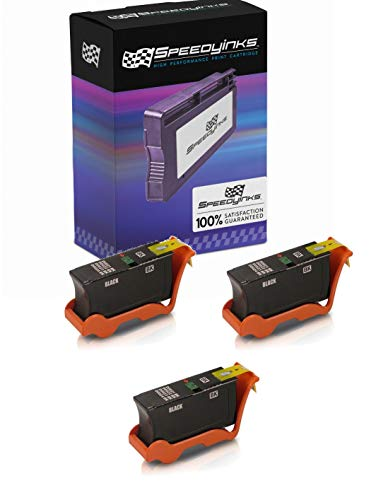 SpeedyInks 3pk Compatible Y498D 330-5275 Series 21 Black Ink