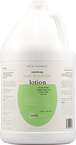 Earth Science Multi Therapy Body Massage Lotion Fragrance Free 1 gal ()