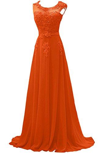 festlichkleider Lilac mia Orange Lang La Elegant Brautmutterkleider Braut Abendkleider Promkleider Abschlussballkleider FzxqSwCqa