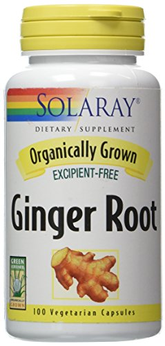 Cheap Solaray Organic Ginger Root Supplement, 540 mg, 100 Count