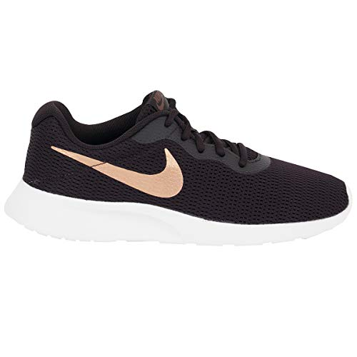 Nike Women's Tanjun Shoe Burgundy Ash/Metallic Red Bronze Size 8.5 M US