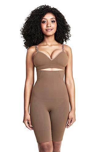 Bermuda modeladora Skin, Plié, Feminino, Cacau, P