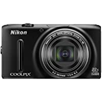 Nikon Digital Camera COOLPIX S9500 BK Black S9500BK
