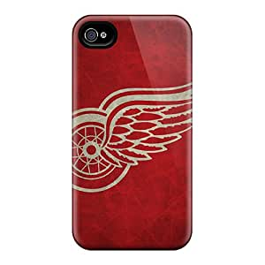 PhilHolmes Iphone 6plus Great Hard Cell-phone Cases Support Personal Customs Vivid Detroit Red Wings Pattern [rqp16551bzvX]