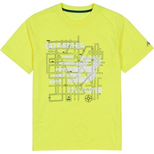 New Balance Little Boys' Short Sleeve Graphic Tee, Firefly, 4 (Firefly Clothing Sale)