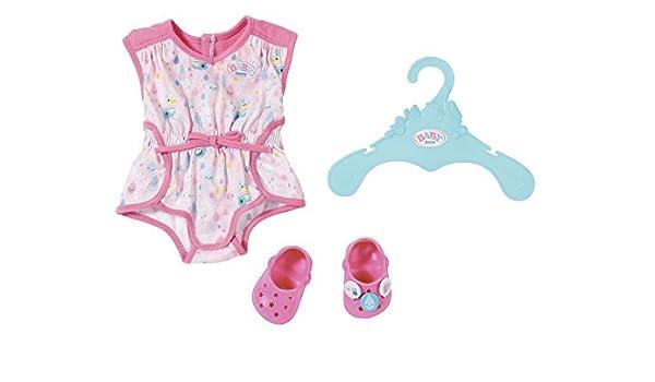 Kleidung & Accessoires Puppen & Zubehör Zapf BABY born® Bath Shorty Pyjama m.Clogs