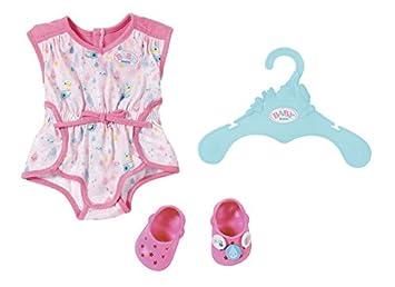 bunt Zapf Creation 824481 Baby Born Sommerkleid Set mit Pins Kleidung & Accessoires