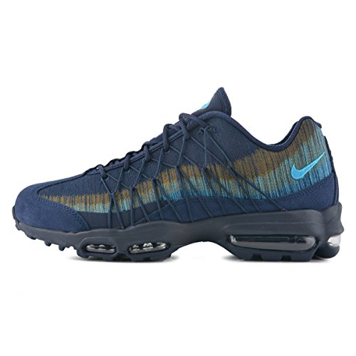 Nike Men's Air Max 95 Ultra JCRD Running Shoes, Grey Obsidian