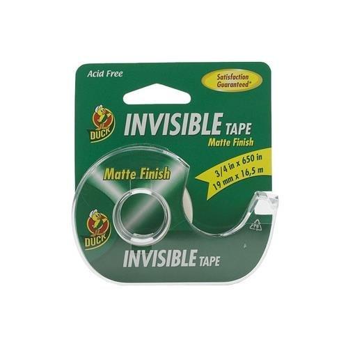 ShurTech Duck Brand Invisible Matte Finish Acetate Tape w...