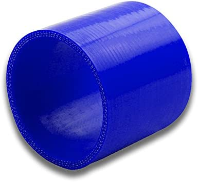 1.375 to 1.625 Blue Straight 3-Ply Silicone Hose for Turbo//Intercooler//Intake Piping