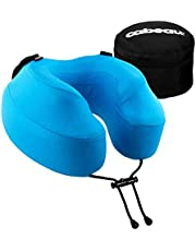Cabeau Evolution S3 Travel Pillow - Straps to Airplane Seat - Ensures Your Head Won't Fall Forward - Relax with Plush Memory Foam - Quick-Dry Fabric Keeps You Cool and Dry