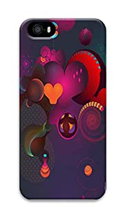 iPhone 5 5S Case Abstract Shapes 3D Custom iPhone 5 5S Case Cover