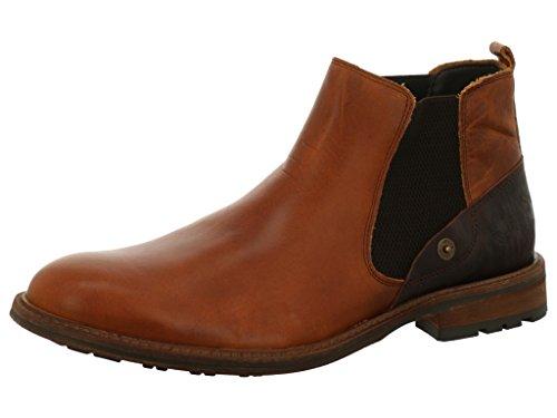BULLBOXER 710-k4-5551a-saco - Botas de Piel para hombre Light Brown/Brown