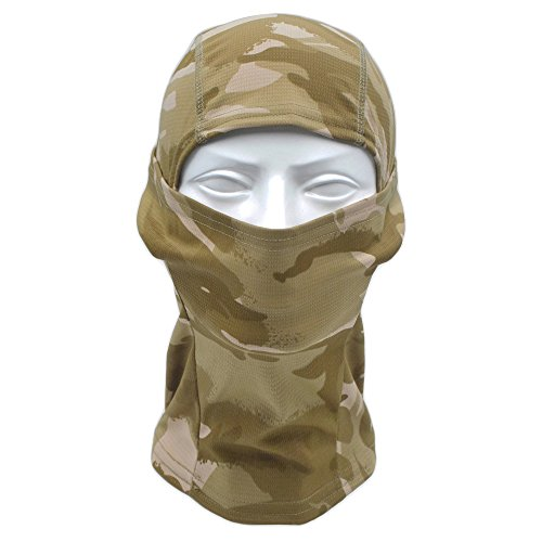 TClian Camouflage Balaclava Full Face mask Ninja hood Millitary Camo Tactical Hunting mask Motorcycle Cycling Face Masks (Mandrake Halloween Costume)